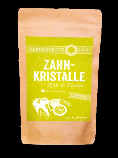 Bio Zahnkristalle Xylit & Zitrone