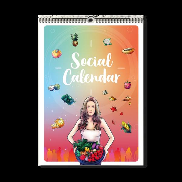 Social Calendar - von Morerawfood