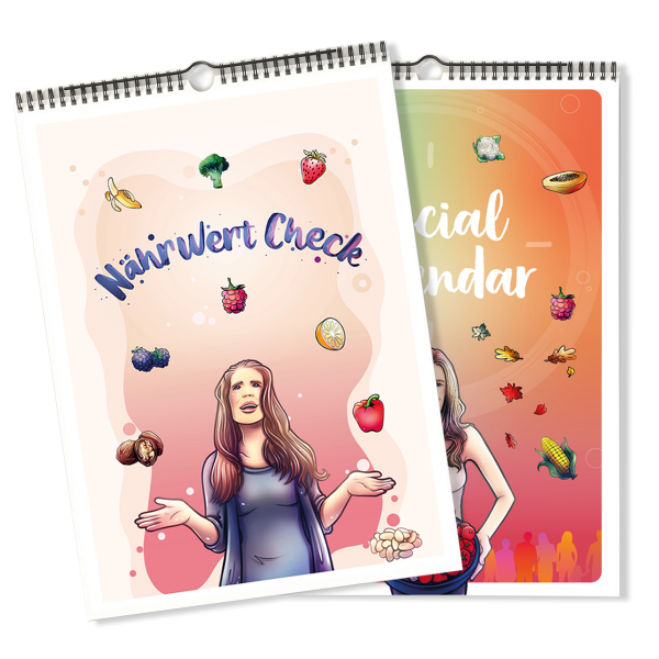 Bundle: Nährwertcheck und Social Calendar - von Morerawfood