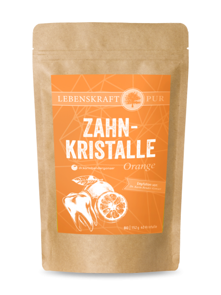 Bio Zahnkristalle Xylit & Orange